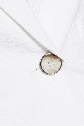 DIANE VON FURSTENBERG Gavyn flocked stretch-cotton gilet