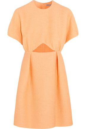 EMILIA WICKSTEAD Tinker cutout jacquard mini dress