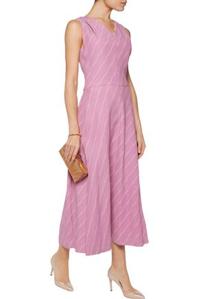EMILIA WICKSTEAD Liv cloqué midi dress