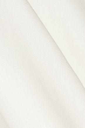 ALICE + OLIVIA Carisi off-the-shoulder stretch-jersey mini dress