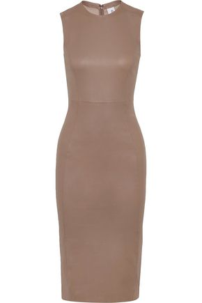 IRIS & INK Carrie stretch-leather dress