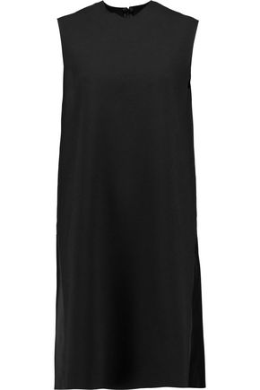 SOLACE LONDON Jaidyn crepe and satin dress