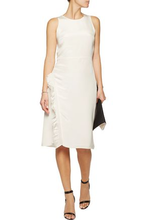 3.1 PHILLIP LIM Ruffled silk crepe de chine dress