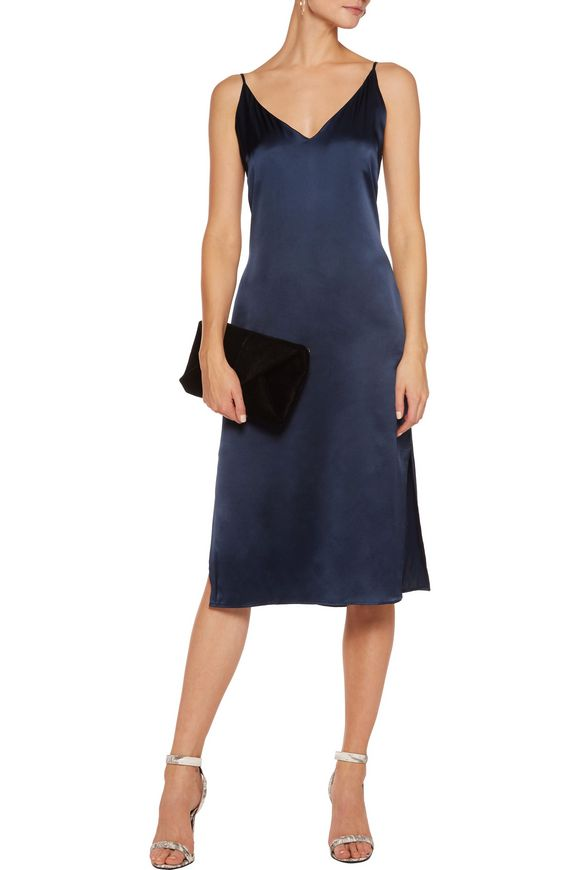 Kendall cutout silk dress | W118 by WALTER BAKER | Sale up to 70% off | THE  OUTNET