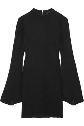 •ELLERY• Duckie stretch-knit mini dress