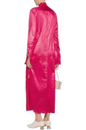 ELLERY Satin maxi dress