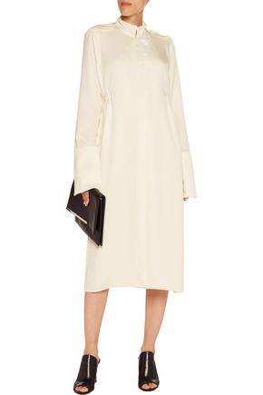 ELLERY Holy Unholy emnellished crepe dress