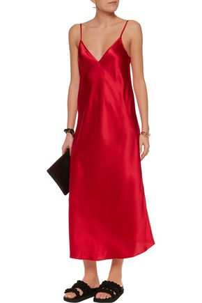 •ELLERY• Technopriest silk-satin midi dress