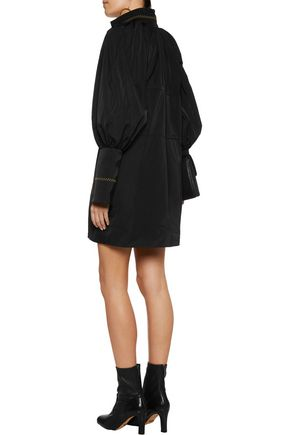 •ELLERY• Witch Doctor embroidered taffeta mini dress