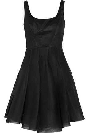 MILLY Neoprene-mesh dress