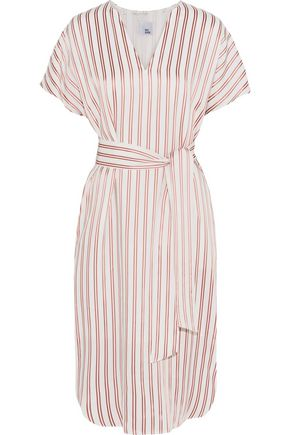 IRIS & INK Striped twill dress