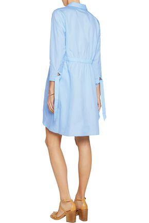 IRIS & INK Cotton-poplin shirt dress