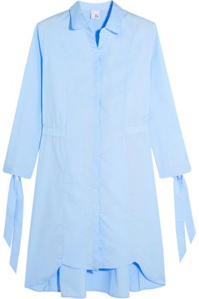 IRIS & INK Cotton-poplin shirt dress