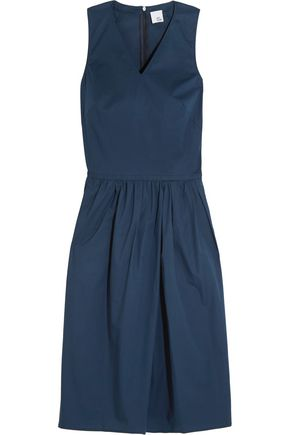 IRIS & INK Leandra poplin dress