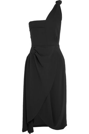 J.W.ANDERSON One-shoulder draped crepe dress
