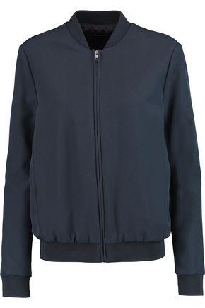 IRIS & INK Crepe bomber jacket