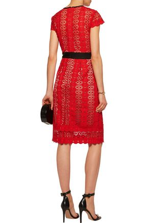 CATHERINE DEANE Ilissa guipure lace dress