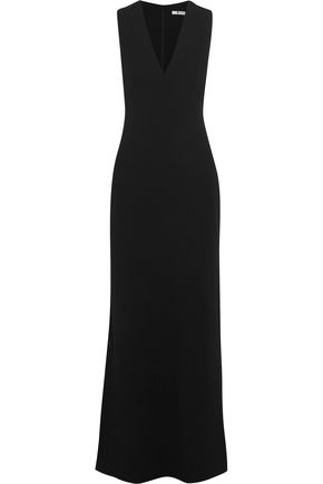 T by ALEXANDER WANG Cutout crepe maxi dress