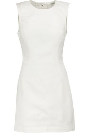 T by ALEXANDER WANG Cutout denim mini dress