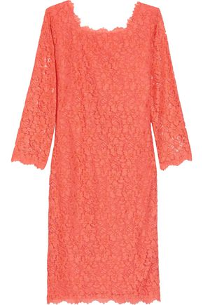 DIANE VON FURSTENBERG Corded lace dress