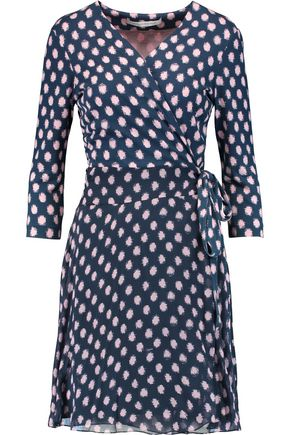 DIANE VON FURSTENBERG Irina printed silk wrap dress