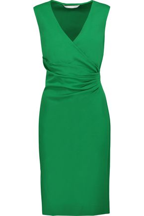DIANE VON FURSTENBERG Layne stretch-crepe dress