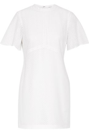 A.L.C. Bridges crocheted cotton-blend mini dress