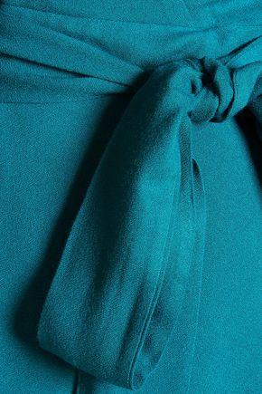 ALICE + OLIVIA Adrianna wrap-effect tie-front jersey dress