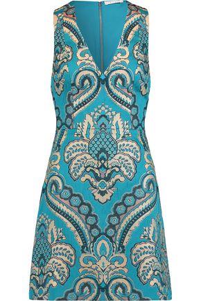 ALICE + OLIVIA Natalee jacquard mini dress
