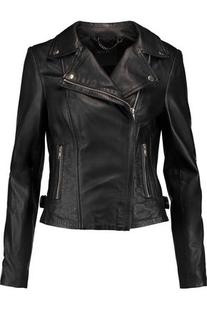 MUUBAA Rosario leather biker jacket