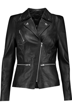 MUUBAA Kajana leather biker jacket