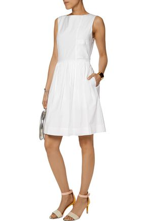 MARC BY MARC JACOBS Gathered stretch-cotton dress