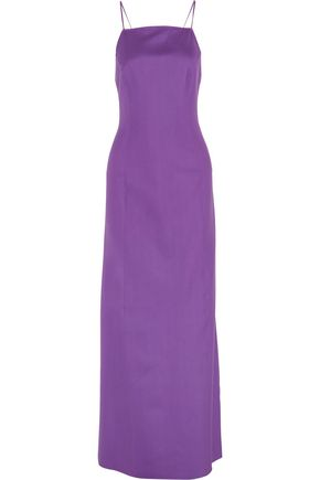 MICHAEL KORS COLLECTION Stretch-silk crepe gown