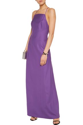 MICHAEL KORS Stretch-silk crepe gown