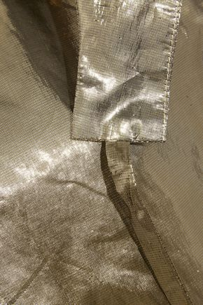 ISABEL MARANT Nestor silk-blend lamé jacket