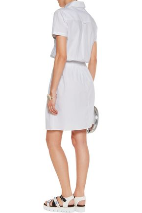 CARVEN Cotton-poplin shirt dress