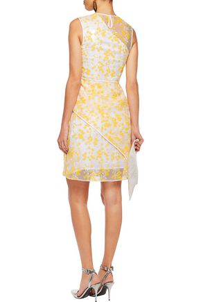 CARVEN Embroidered organza dress