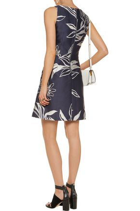 SUNO Jacquard mini dress