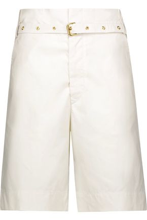 ISABEL MARANT Neddy belted cotton shorts