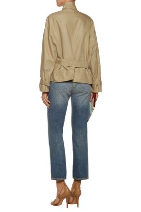 ISABEL MARANT Haley cotton and linen-blend jacket