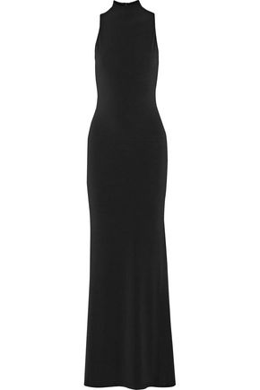 ALICE + OLIVIA Erika stretch-cady maxi dress