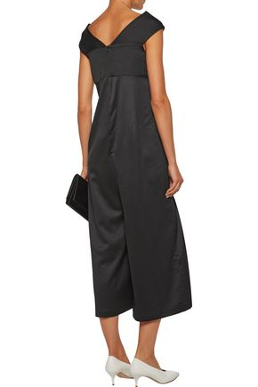 PAPER London Mary satin-twill jumpsuit