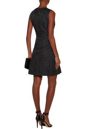 THEORY Raneid jacquard mini dress