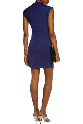 HALSTON HERITAGE Stretch-ponte mini dress