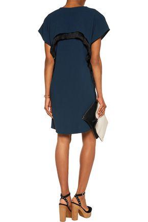 10 CROSBY DEREK LAM Fringed crepe dress