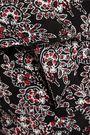 10 CROSBY DEREK LAM Ruffled printed silk crepe de chine mini dress