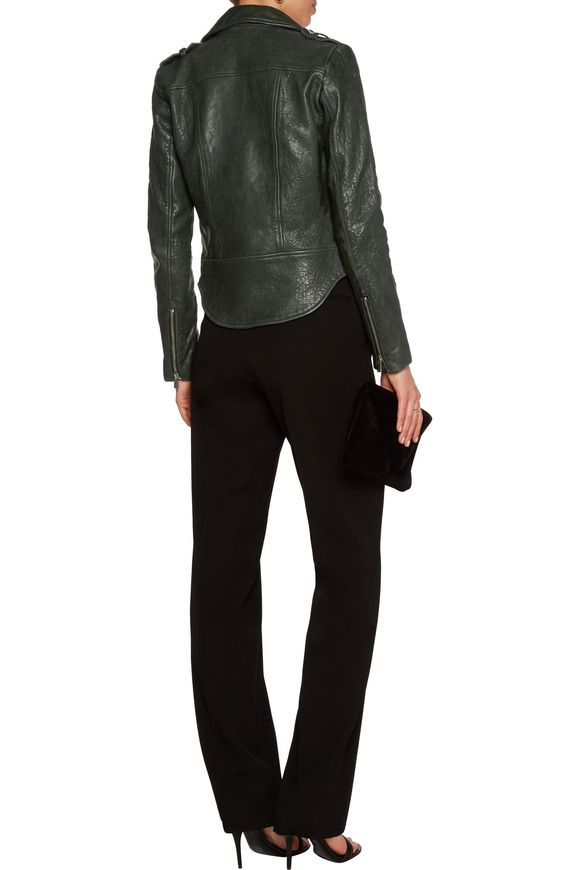 Leather biker jacket | REBECCA VALLANCE | Sale up to 70% off | THE OUTNET