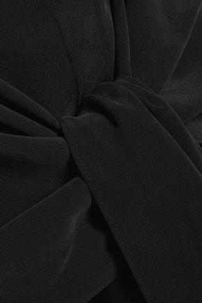 JOSEPH Alto washed-silk midi dress