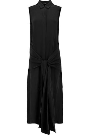 JOSEPH Alto washed-silk midi dress