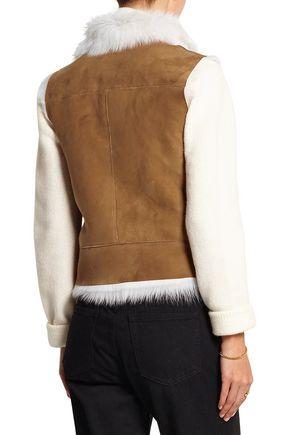 JOSEPH Lucy shearling vest